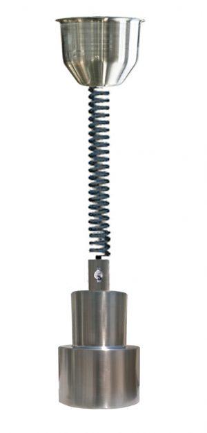 200/RET/SS Retractable heat lamp